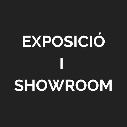 Exposició i showroom